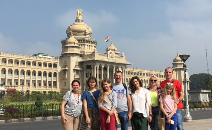 Bengaluru City Tour at Vidhana Soudha