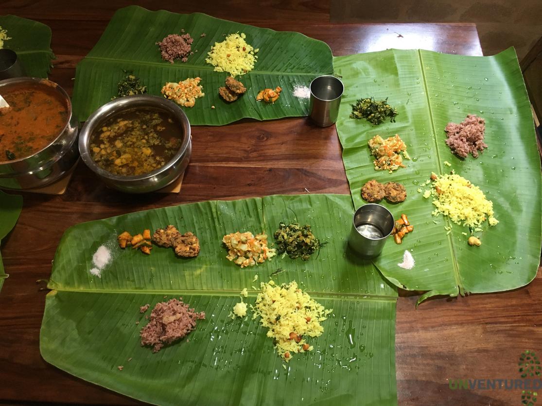 Bengaluru City Tour - Authentic Bannana Leaf Meal