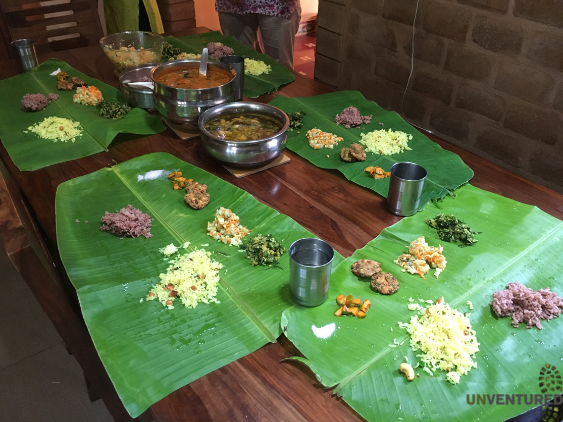 Bengaluru City Tour - Plantain Leaf Meal